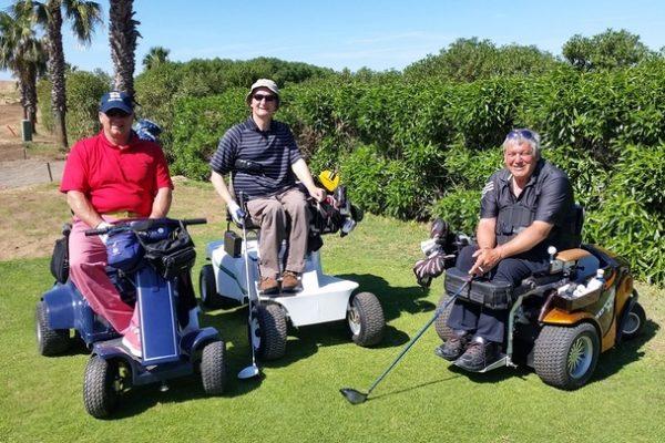 Leading British players at Wheelchair Golf Barcelona
